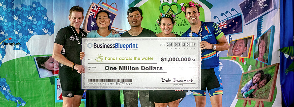 Business blueprint charity bike riders inspired by the experience dale led a group of 29 business blueprint clients who rode 500km in thailand in 5 days during 2014 malvernweather Image collections
