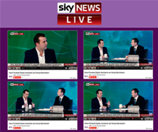 Dale has been featured in SkyNews