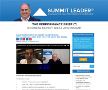 Dale has been featured in Summit Leader